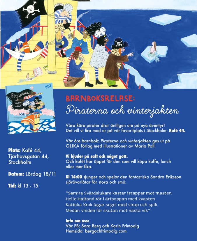 Piraterna 2 release flyer